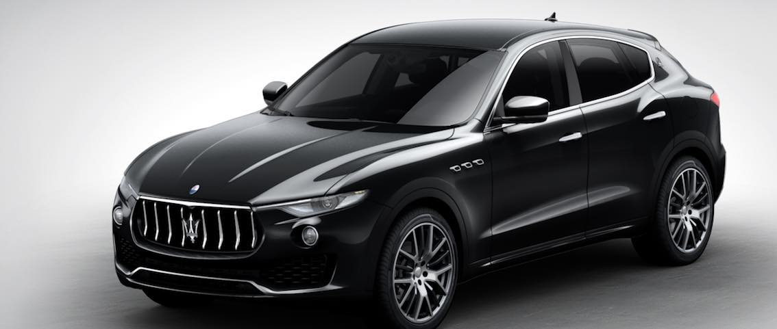 Maserati Levante Schwarz