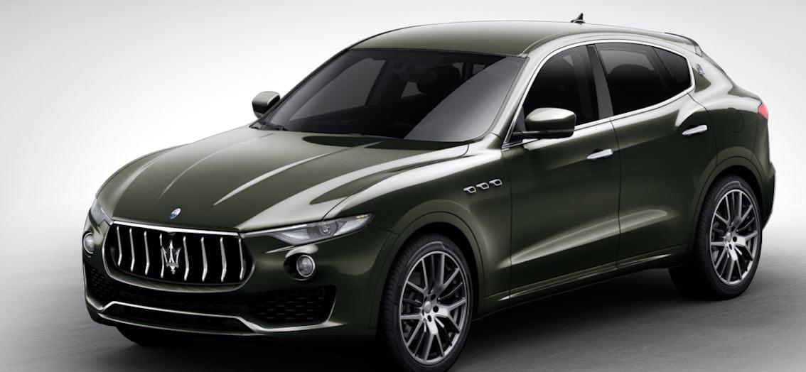 Maserati Levante Verde Ossido