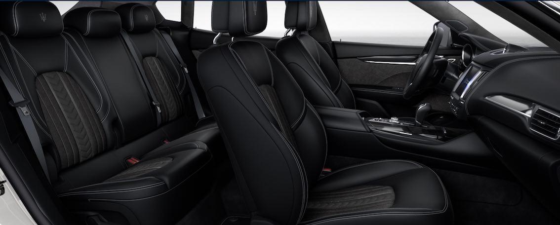 Maserati Levante Zegna Edition Nera Grigio