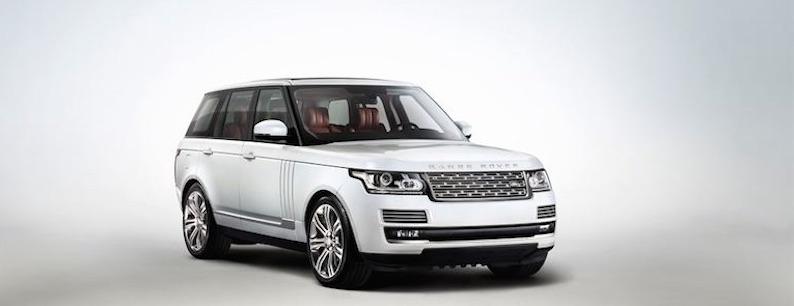 Range Rover Weiß