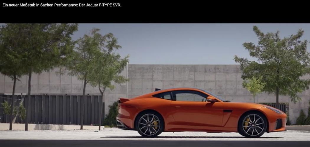 F-Type SVR Video