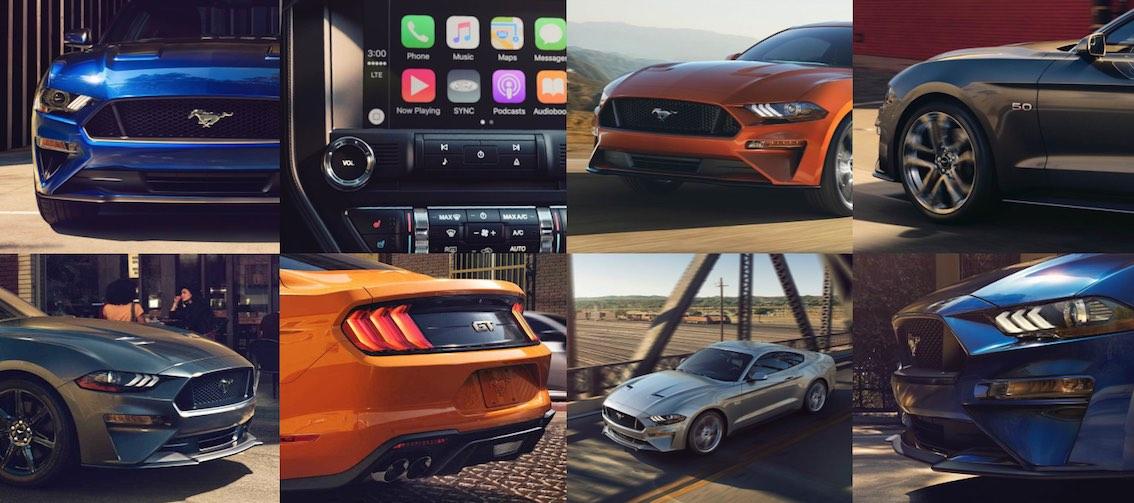 Ford Mustang 2018 Cabrio acht Bilder