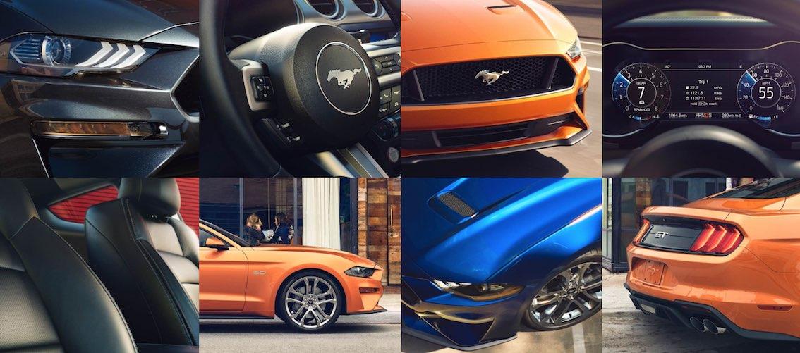 Ford Mustang Cabrio Bilder Modell 2018