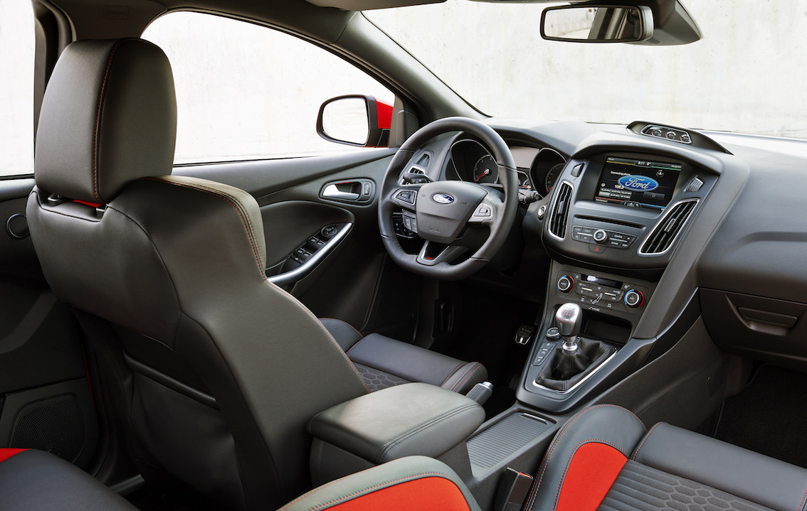 Ford Focus ST Sitze