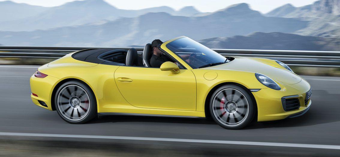 Porsche 911 Cabrio 4S 2017