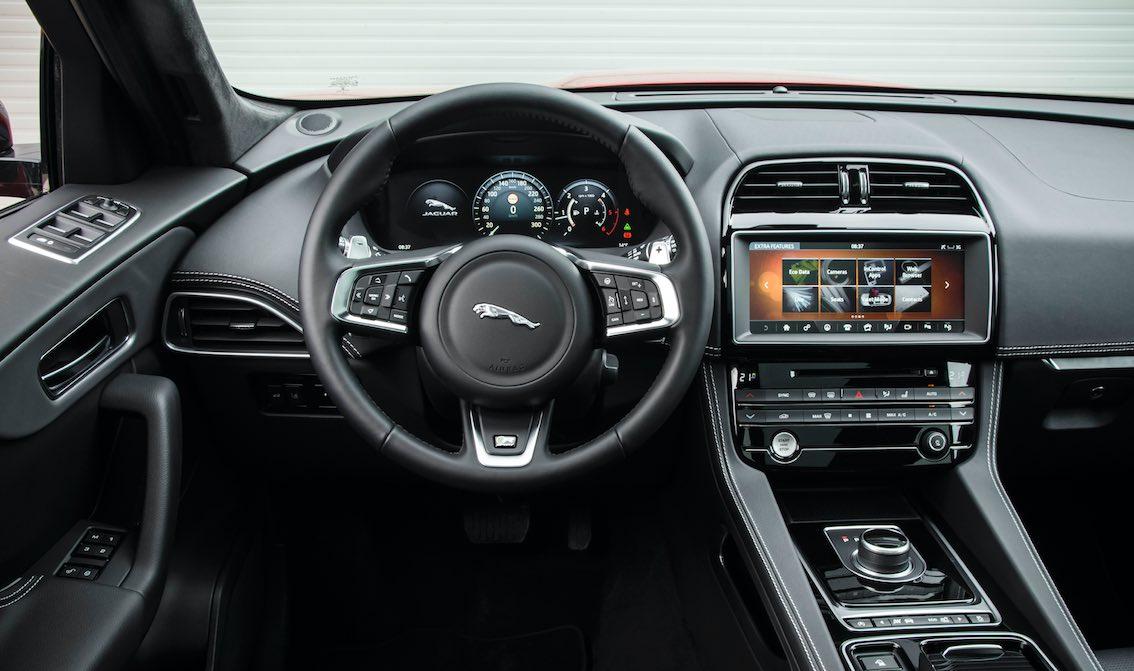 Jaguar F-Pace Innenausstattung