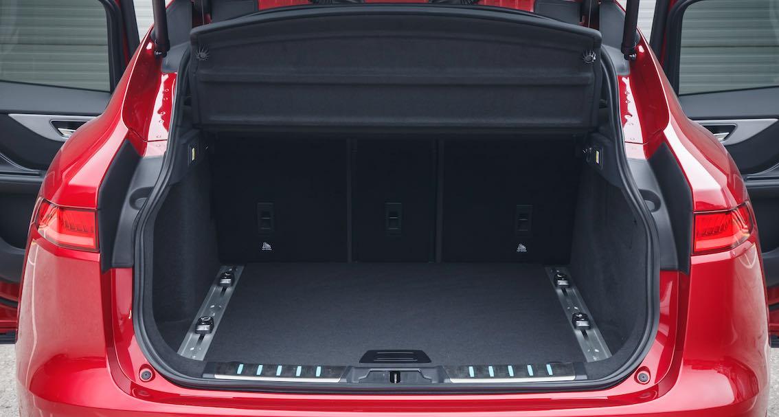 Jaguar F-Pace Kofferraum