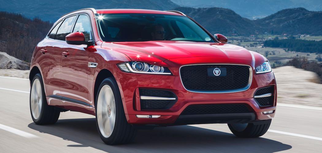 Jaguar F-pace rot vorne Beitragsbild
