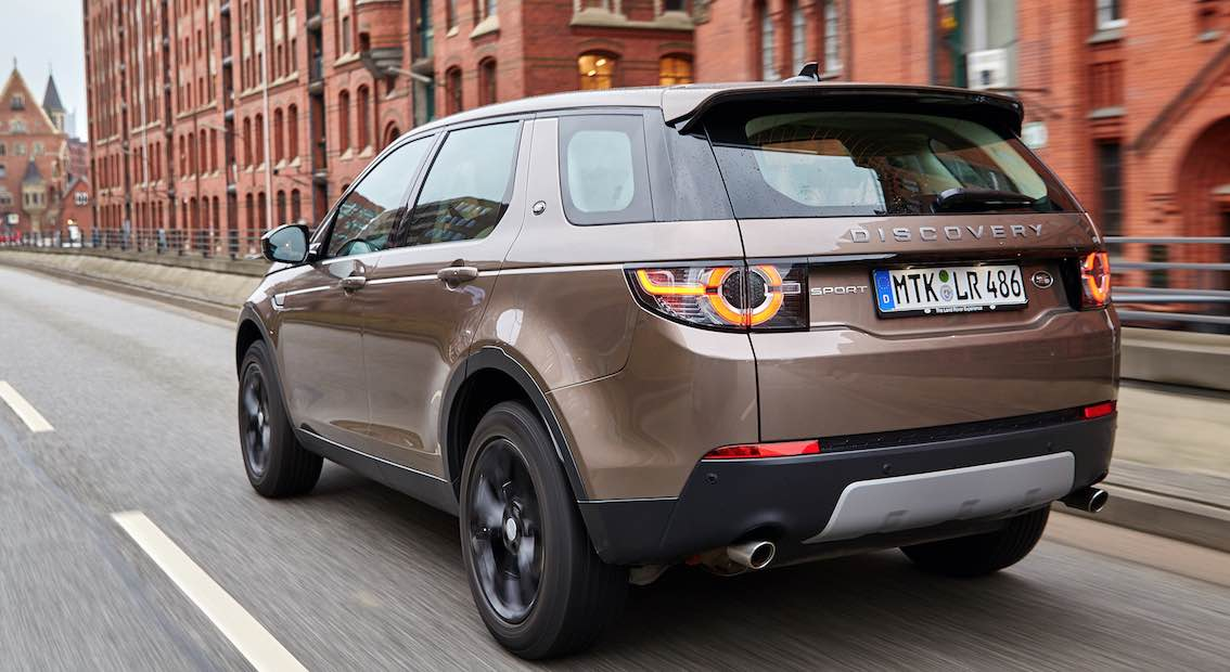 Land Rover Discovery Sport 2017 hinten