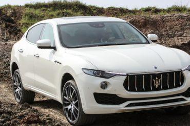 Maserati Levante SUV weiss