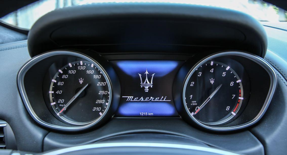Maserati Levante Tacho