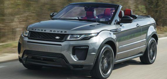 vorstellung range rover evoque cabrio 2016. Black Bedroom Furniture Sets. Home Design Ideas