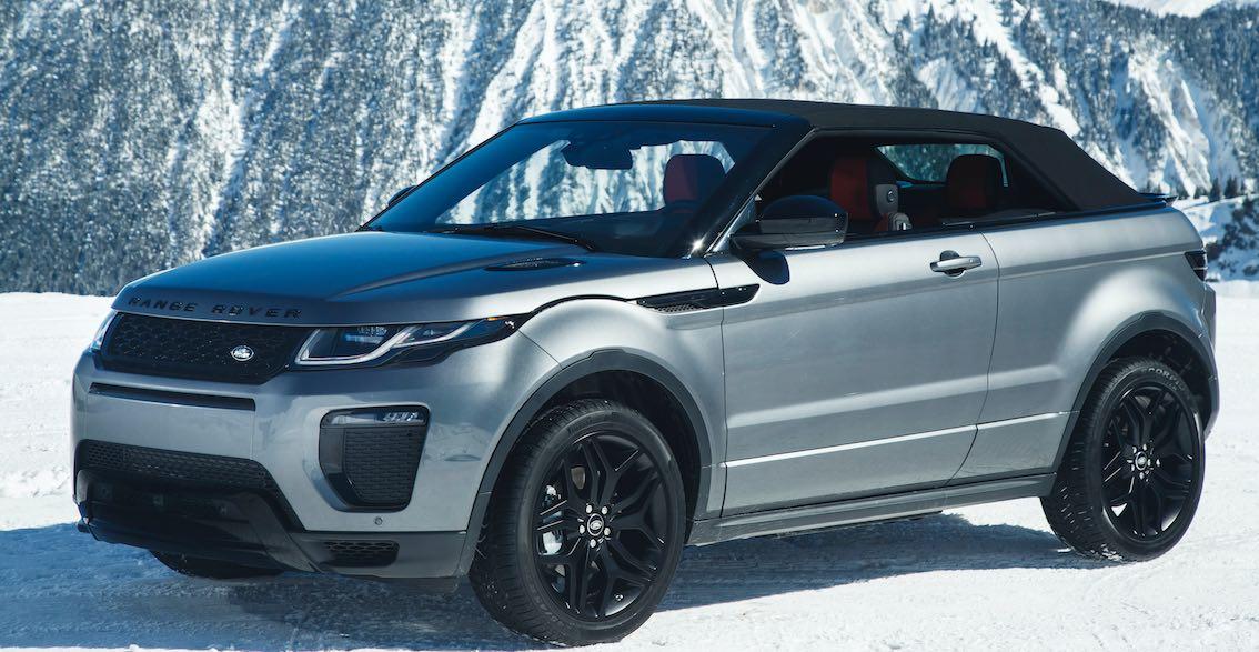 Range Rover Evoque Cabrio geschlossen