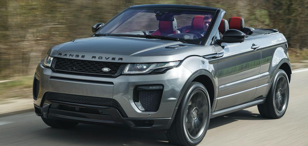 kurzer fahrtbericht des neuen range rover evoque cabrio 2016. Black Bedroom Furniture Sets. Home Design Ideas