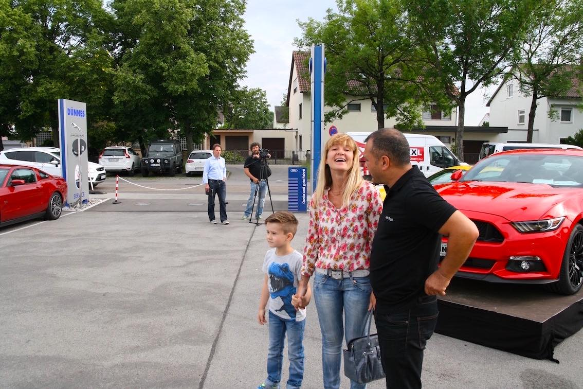Ford Mustang Party Regensburg 2016 Autohaus Duennes