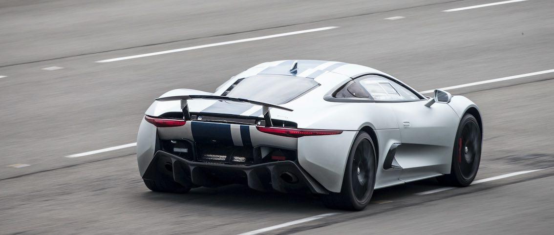 Jaguar Hybrid Sportwagen