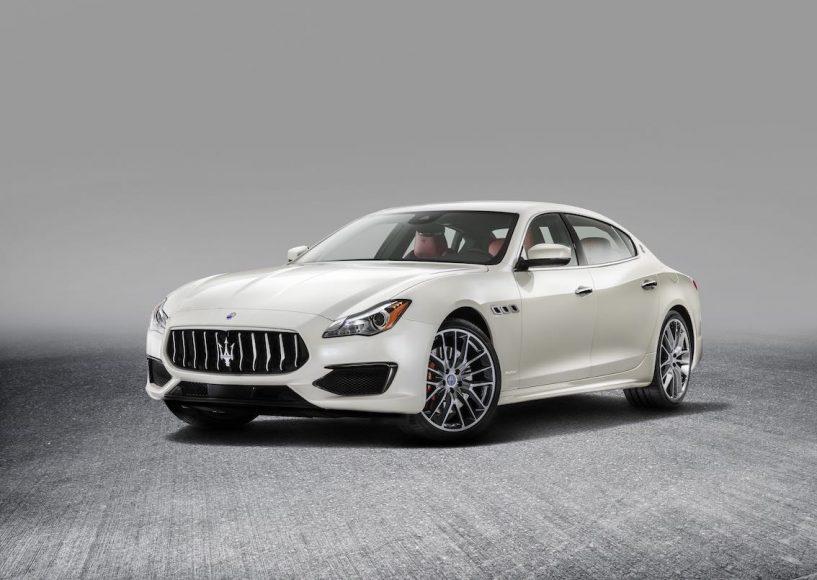 Maserati Quattroporte 2017 weiß