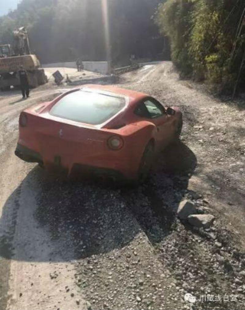 Ni Hai Shan Maserati Ferrari