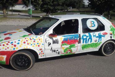 Ford Fiesta auf abwegen