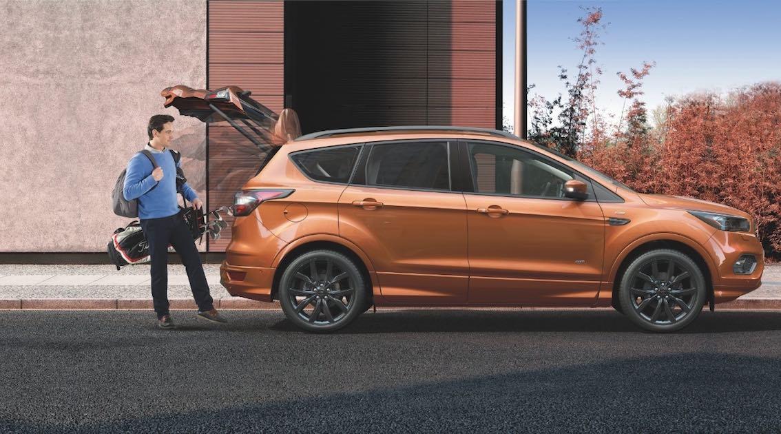 Ford Kuga 2017 orange