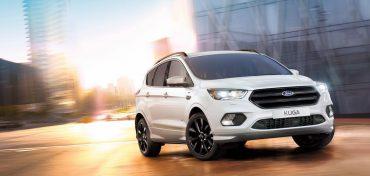 Ford Kuga 2017 weiß vorne