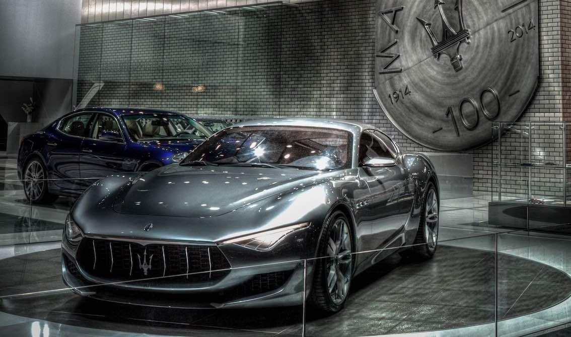 Maserati Alfieri Messe vorne