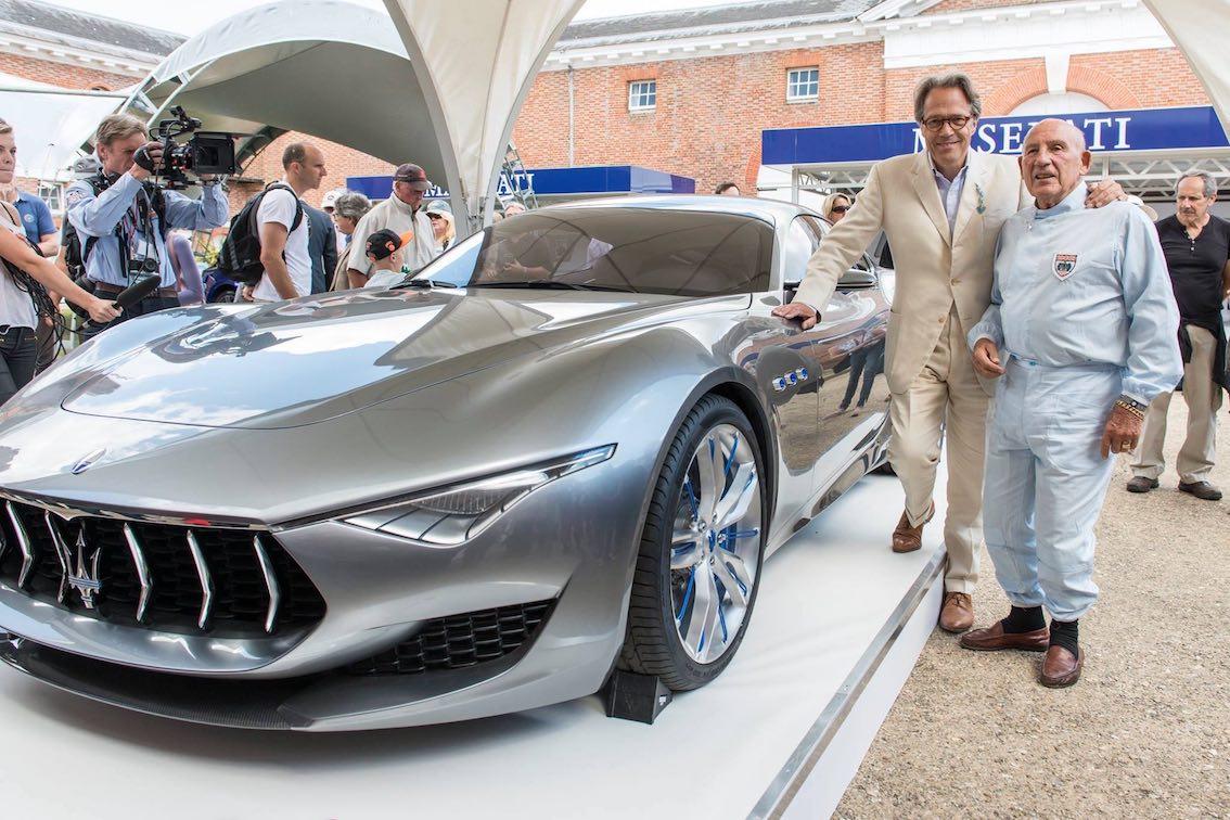 Maserati Alfieri Sterlin Moss