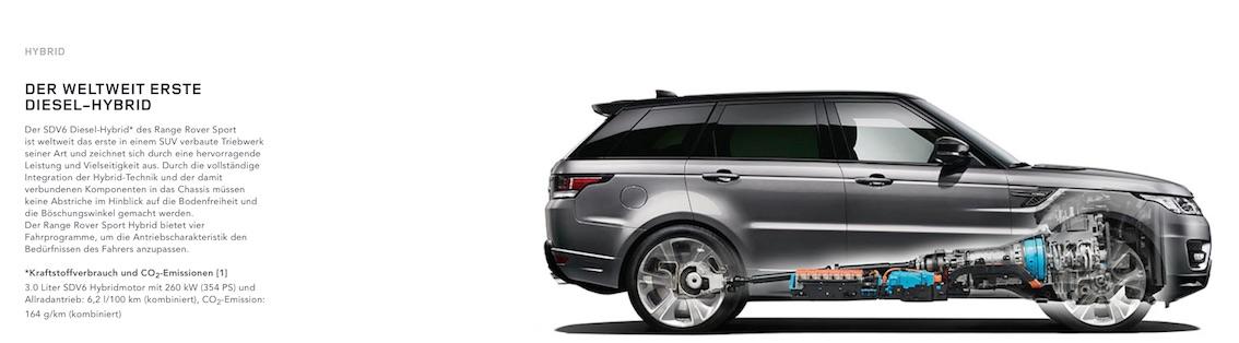 Range Rover Sport 2017 Hybrid