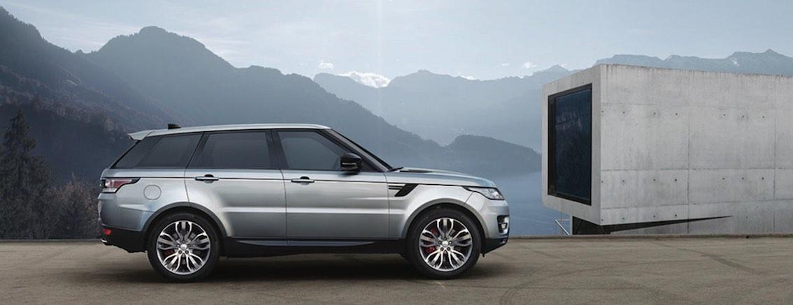 Range Rover Sport 2017 seitlich silber