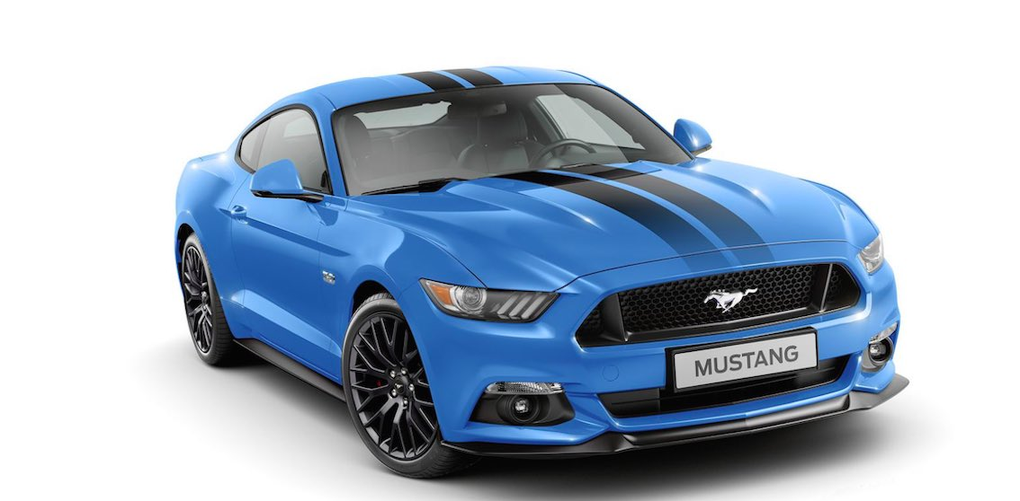 Ford Mustang 2017 Sonderedition Black Shadow Kaufen