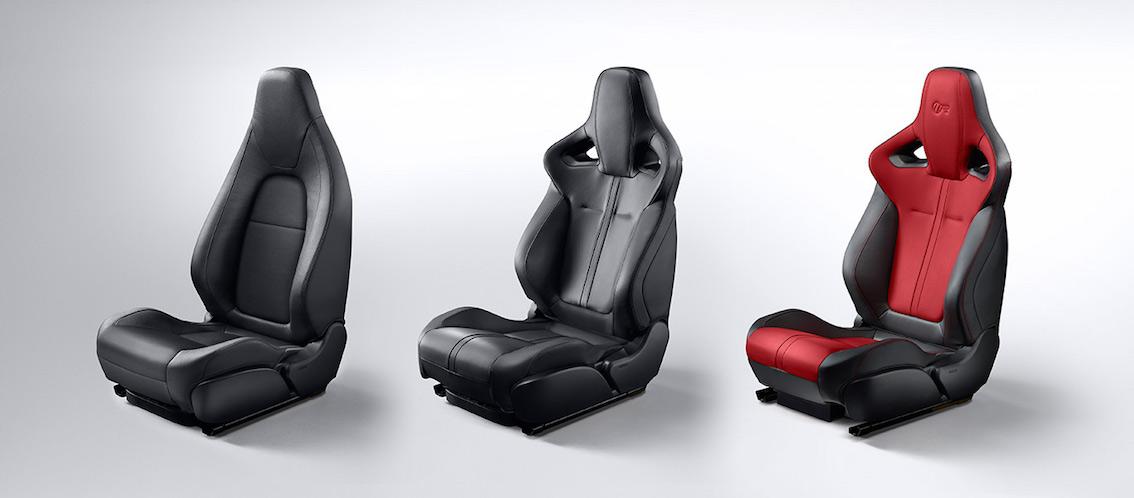 Jaguar F-Type 2017 Sitze SPortsitze