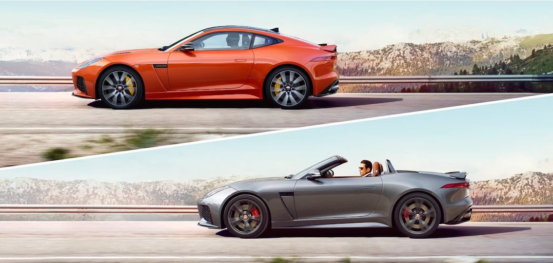 Jaguar F-Type SVR Cabrio Coupe
