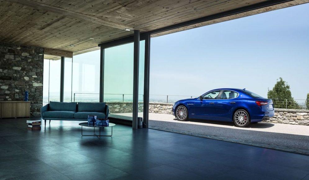 Maserati Ghibli 2018 Blau 2