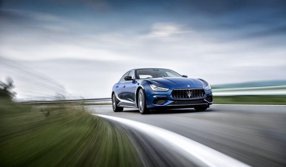 Maserati Ghibli 2018 Blau 3