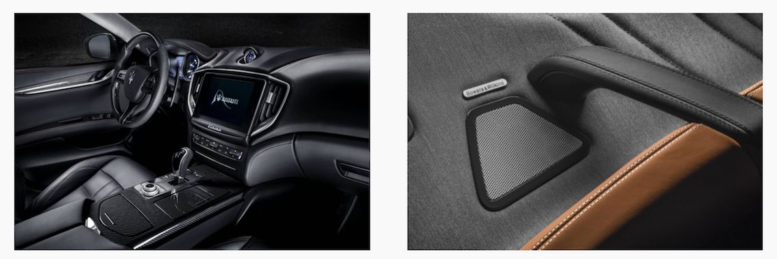 Maserati Ghibli 2018 innen