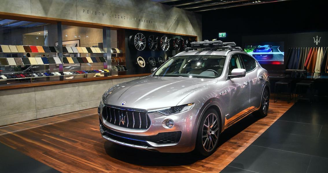 Maserati GranLusso 2018 Silber