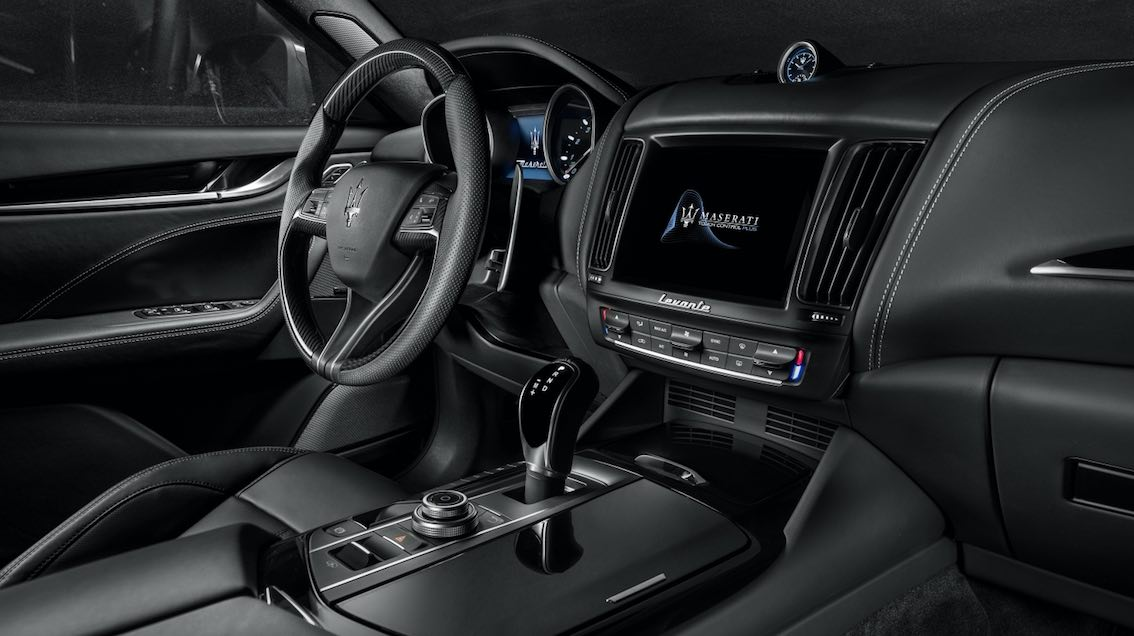 Maserati Levante 2018 Innenausstattung