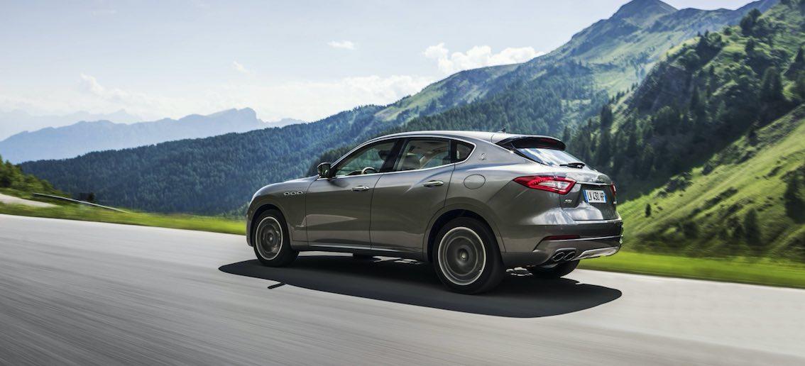 Maserati Levante GranSport 2018 Heck Grau