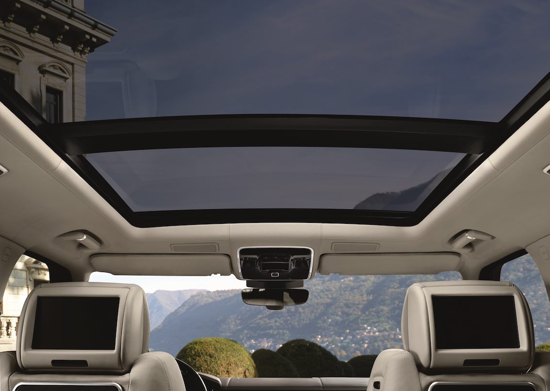 Range Rover 2017 Glasdach
