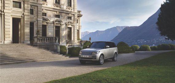 range Rover 2017 grau