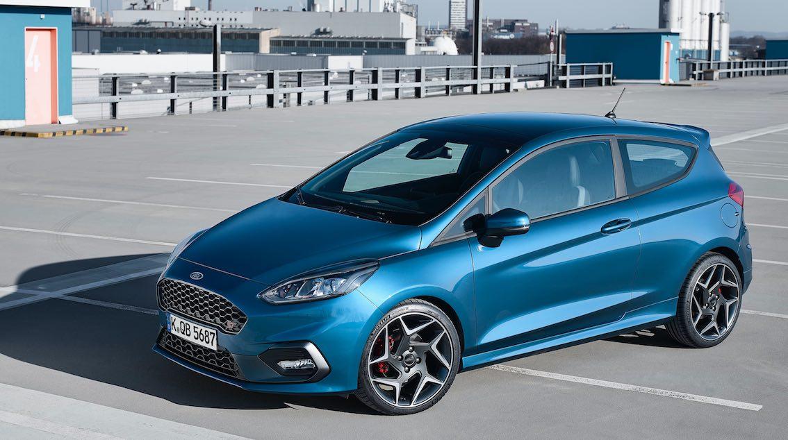 Ford Fiesta ST 2018 blau