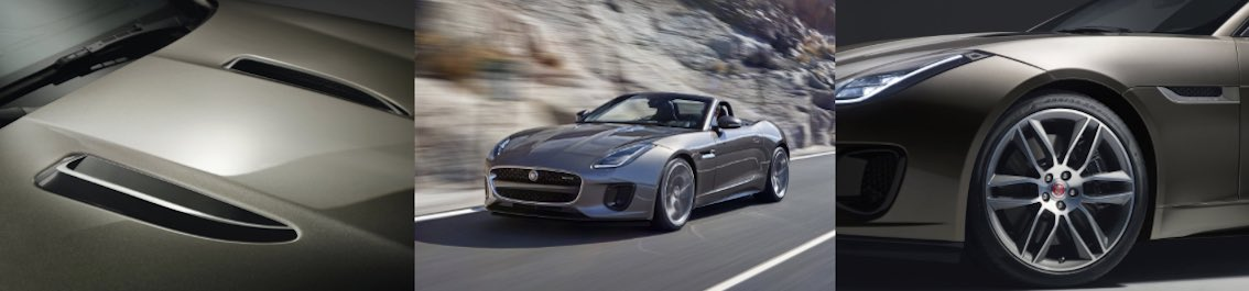 Jaguar F-Type 2017 grau