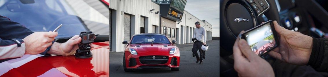Jaguar F-Type 2018 GoPro