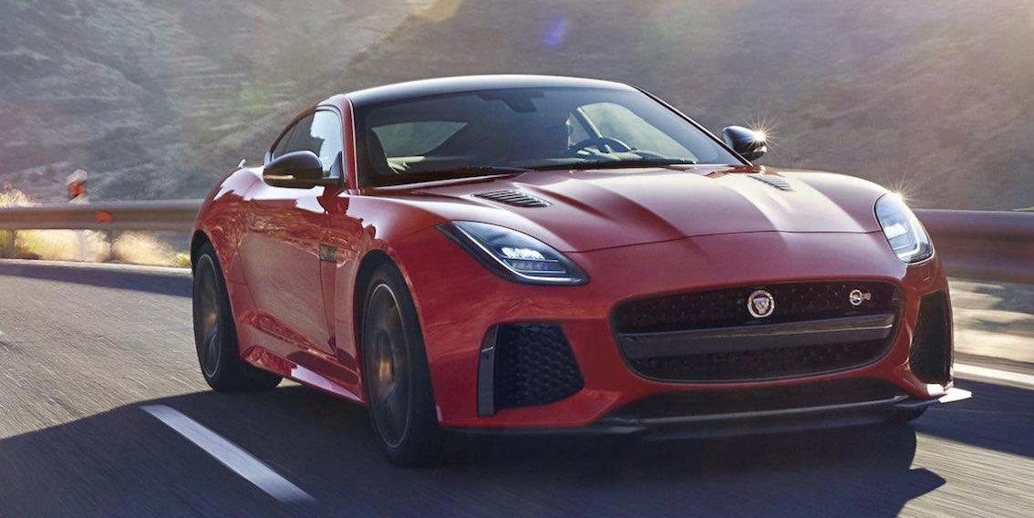 Jaguar F-Type Rot 2018