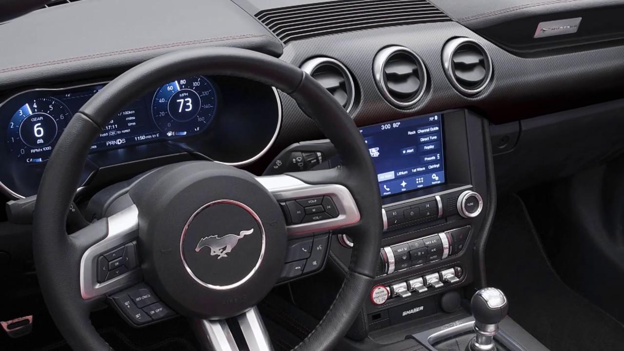Vorstellung Des Neuen Ford Mustang 2018 Mit Allen 20