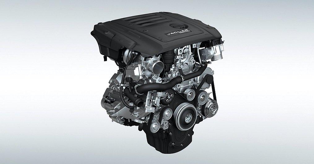 Jaguar Ingenium Motor 2018