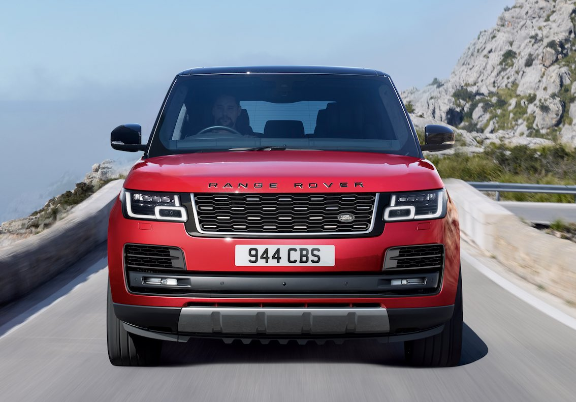 Range Rover SVAutobiography 2017 Rot Front