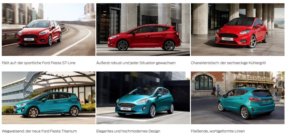 Ford Fiesta 2017 Neuheiten