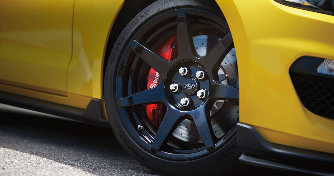 Ford Mustang Shelby GT350 Modelljahr 2017 Felgen schwarz