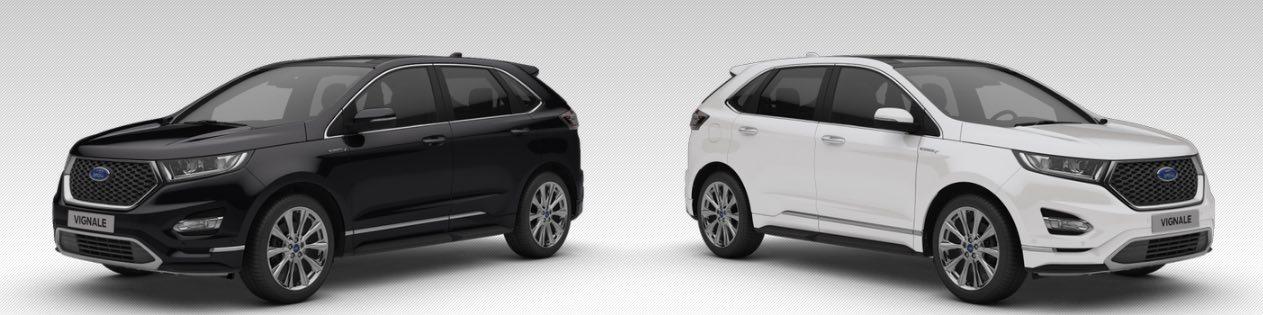 Ford Edge Vignale 2017